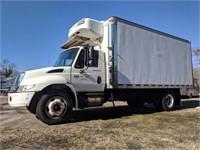 2006 International 4300 Truck w/ Refrigerator Box