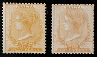 Great Britain & Empire Postage Stamps 1840-1940