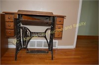 Vintage Singer Sewing Machine Stand