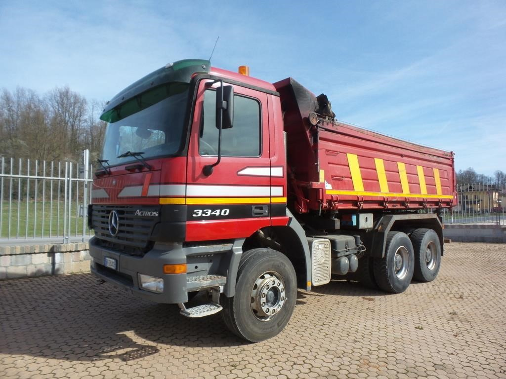 Mercedes-Benz ACTROS 3340 #Used
