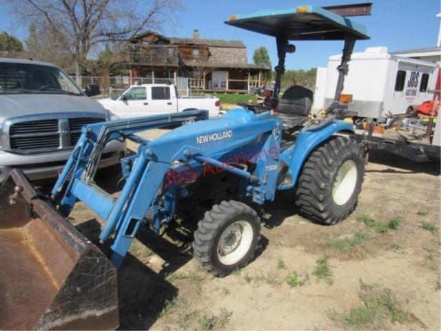 New Holland TC33D Tractor   JBS AUCTIONS