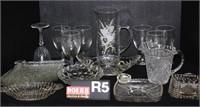 Fenton, Art Pottery, Ruby Red, Depression & Pattern Glass