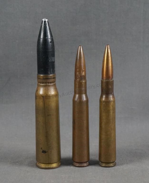 U.S. Military 20mm and 50 Cal BMG Dummy Rounds | Asset Marketing ...