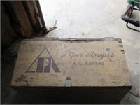 Piper Angus wooden box