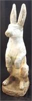 Concrete Rabbit Sculpture