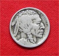 1913 S Buffalo Nickel Type I