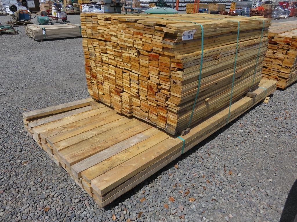Lot of Incense Cedar Dog-Eared Fence Outs | BidCal, Inc