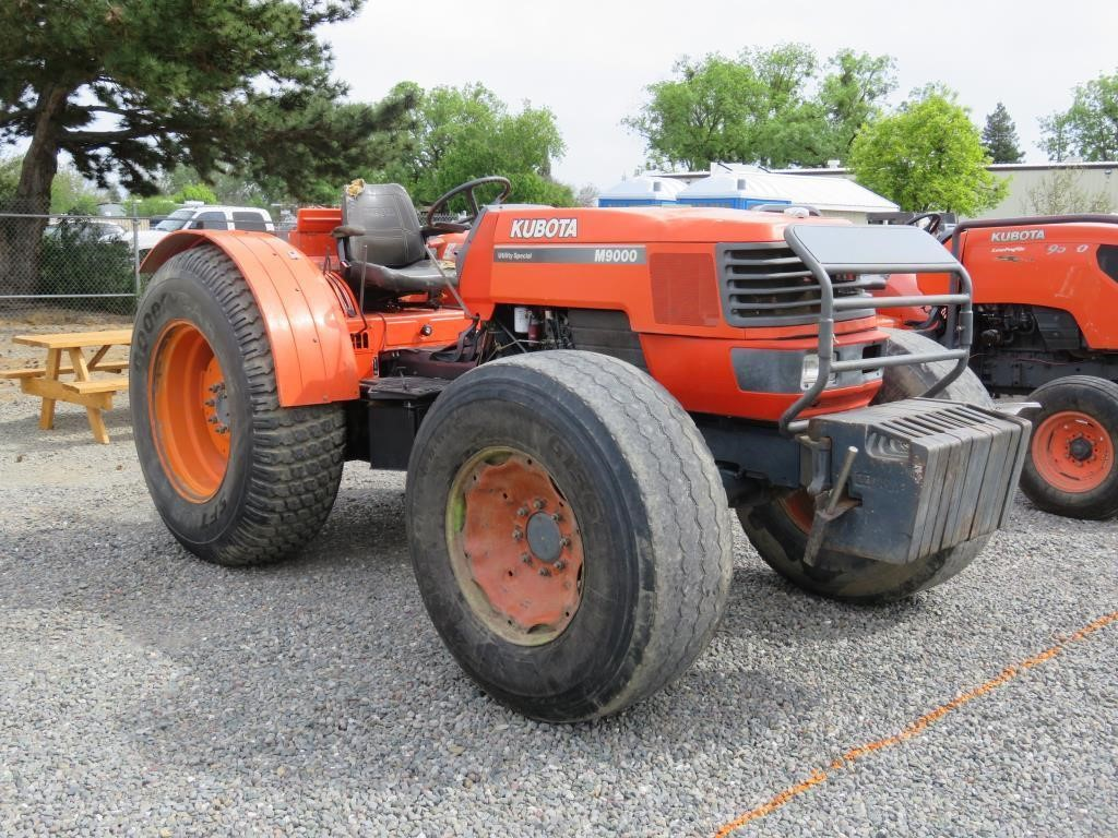 Kubota M9000 Utility Special Wheel Tractor | BidCal, Inc