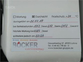 SCHMITZ SKO 24 DOPPELSTOCK TRENNWAND THERMO KING SLX 300