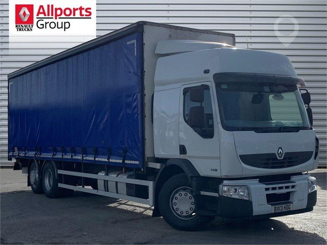 Used 2013 RENAULT PREMIUM 340 For Sale in STAFFORDSHIRE, United