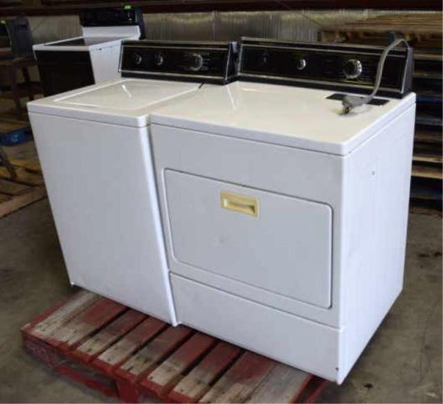 Kitchenaid Electric Washer Dryer Lawler Auction Company