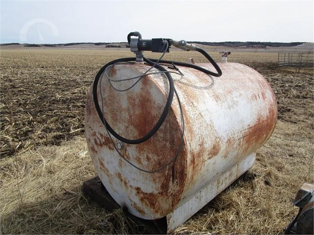 500 Gallon Fuel Tank >> Lot 6720 Fuel Tank 500 Gallon
