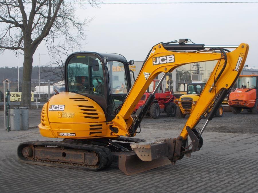 JCB 8065 RTS Usato