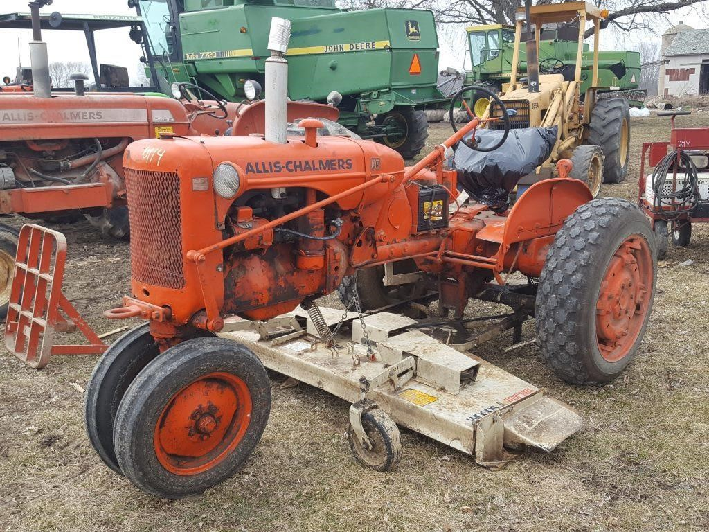 ALLIS CHALMERS CA TRACTOR W/WOODS BELLY MOWER | Wisconsin