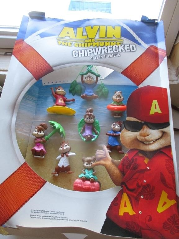 Alvin And The Chipmunks Chipwrecked Graber Auctions