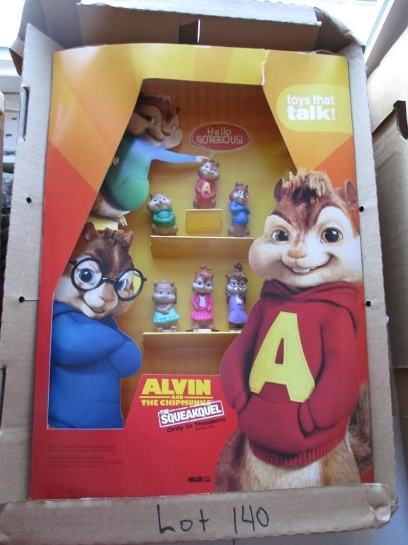 Alvin And The Chipmunks The Squeakquel Graber Auctions