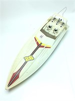 R.c. Boat W/ Booklet & Parts Inside