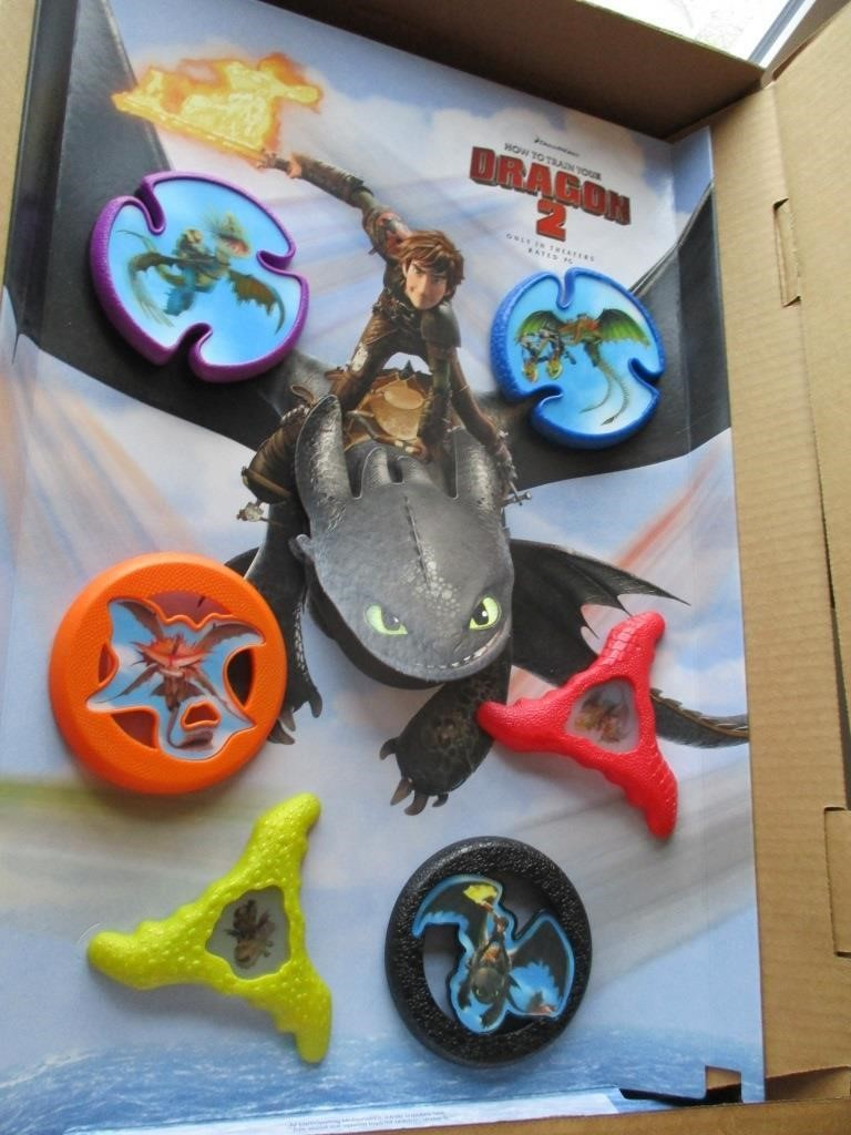Dreamworks How To Train Your Dragon 2 Graber Auctions