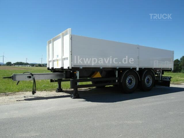 PAVIC OptiPa ZPRASQ 18 BW Baustoff Tandem-Anh�nger