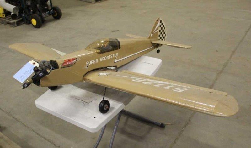 Gas RC Plane Super Tigre, Super Sportster, Unknown | Smith