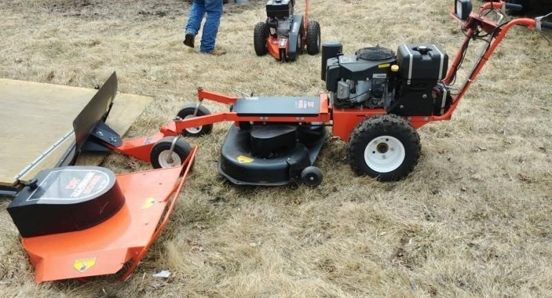 DR Field & Brush Mower 15hp, PRO | W  Yoder Auction LLC