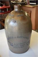 Blue Stoneware Pottery