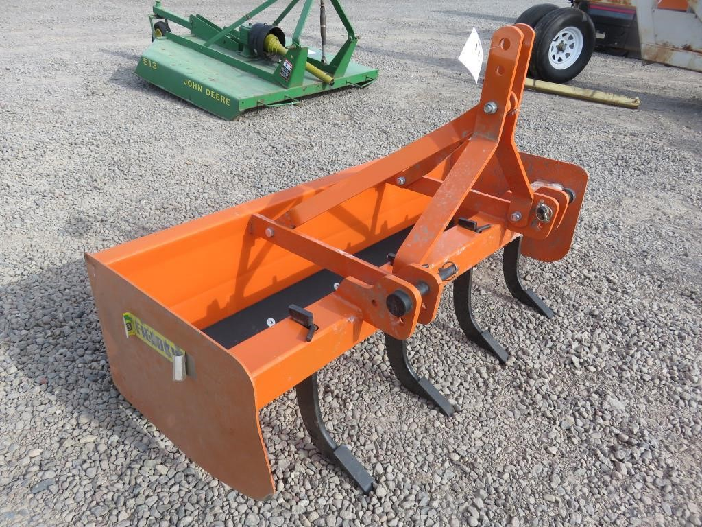 5' FieldKing FRBB-60 Box Blade   BidCal, Inc  - Live Online Auctions