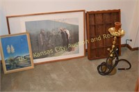 Hookah Pipe, Pictures, Wall Shelf.