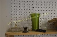 Wicker Baskets, Vases, Misc. Items