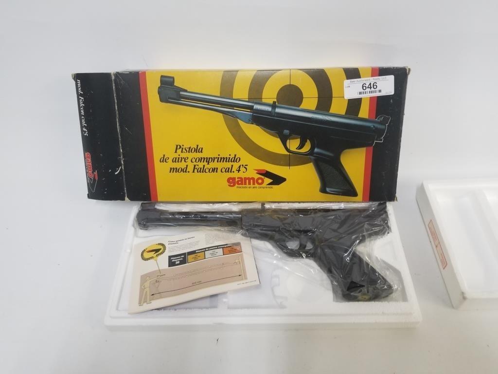 Gamo Falcon 4 5cal ( 177) Pellet pistol | Baer Auctioneers