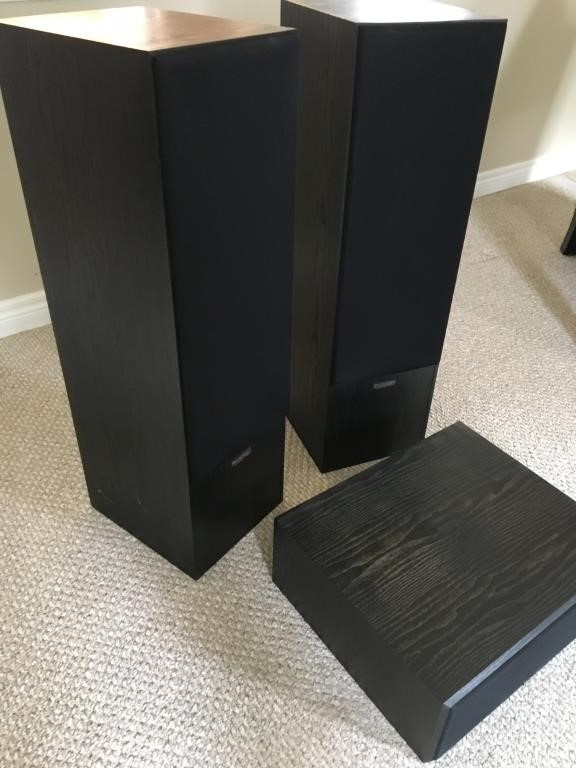 Paradigm Speakers 5SE MK3 with CC-200   Alston Bid