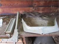 Livestock calf equipment, insecticide, herbicide