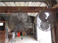 2 Patterson livestock fans