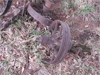 Vintage steel wheels