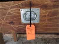Wooden work bench w/ vise