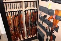 48 GUNS-GUN SAFE-RELOADING EQPT.-SCOPES-LOTS MORE!