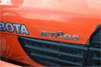 2011 Kubota B7800 w/ Cab and Loader | HiBid Auctions