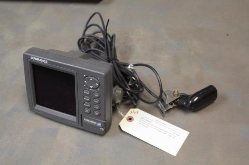 Lowrance LMS-522C iGPS Depth Finder / GPS Unit | Smith Sales LLC