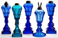 Many rare colored fluid lamps