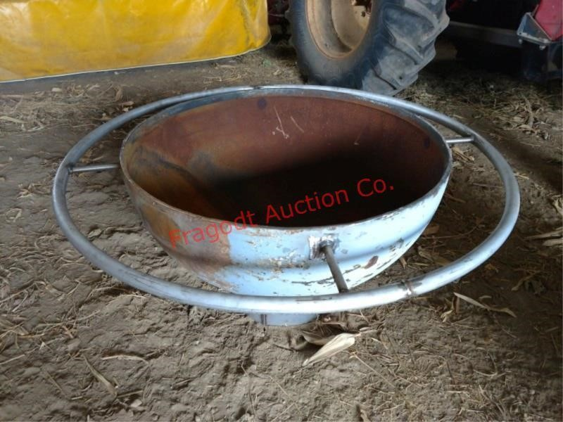 Handmade Above Ground Fire Pit Item Is Located Ne Fragodt Auction And Real Estate