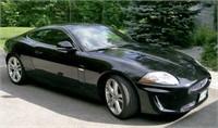 Black 2011 Jaguar XKR - Supercharged Coupe