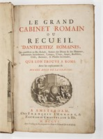 A 1706 Amsterdam printing of Le Grand Cabinet Roman.