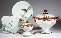 A selection of Chinese and Asian porcelain