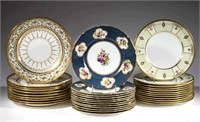Fine porcelain selection, including tablewares by Mintons and Royal Doulton