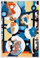 John Francis Stenvall (American, 1907-1998) abstract