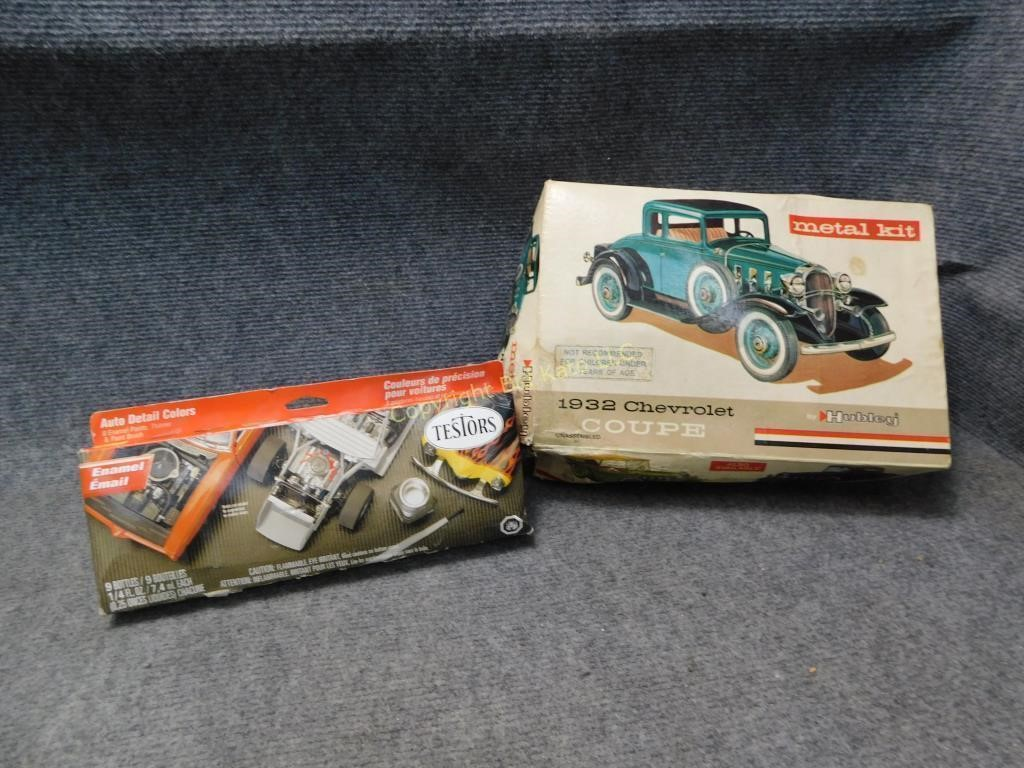 Hubley 1932 Chevy Metal Model Kit | Bid Kato
