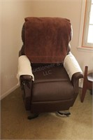 Power Lift Chair (quiet, works good, needs reupholstered) image 2 of 5