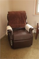 Power Lift Chair (quiet, works good, needs reupholstered) image 1 of 5