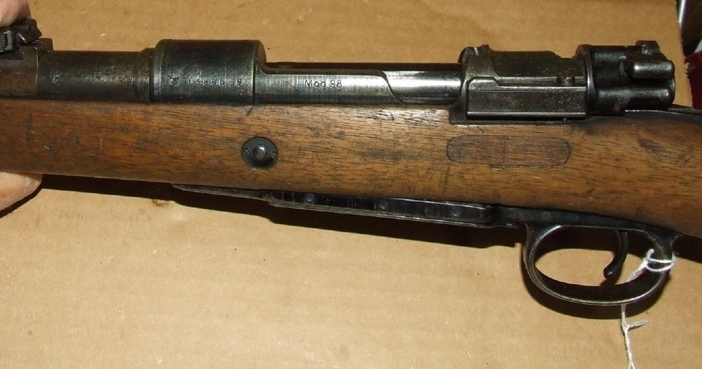 Mauser 98 (bvf 44) 8mm rifle | Baer Auctioneers - Realty, LLC