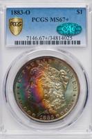 $1 1883-O PCGS MS67+ CAC